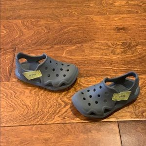 Swiftwater croc toddler shoe